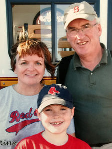 Julie Rick and Colin Nally last family photo