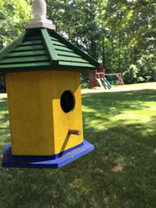 birdhouse constructed at Care Dimensions grief camp
