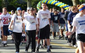 Papa's Angels Walk for Hospice team members