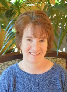 Karen McBain Care Dimensions hospice volunteer