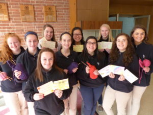 Bishop Fenwick High School Healing Hearts Club supports patients at the Kaplan Family Hospice House