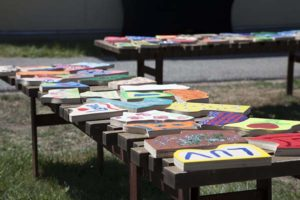 puzzle pieces at Care Dimensions Camp Stepping Stones