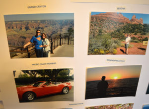 Pictures from Steve Brown's bucket list trips Grand Canyon Sedonza Arizona Pacific Coast Highway Redondo Beach