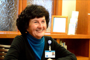 Care Dimensions hospice volunteer Joan Charette