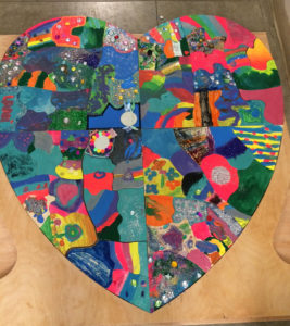 heart-shaped-puzzle-made-by-grieving-children-at-Care-Dimensions-Camp-Stepping-Stones-grief-support-camp