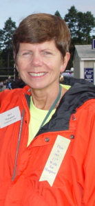 Gail Thompson Care Dimensions volunteer at Walk for Hospice